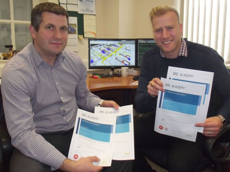 Argus Fire first to achieve BIM professional certification