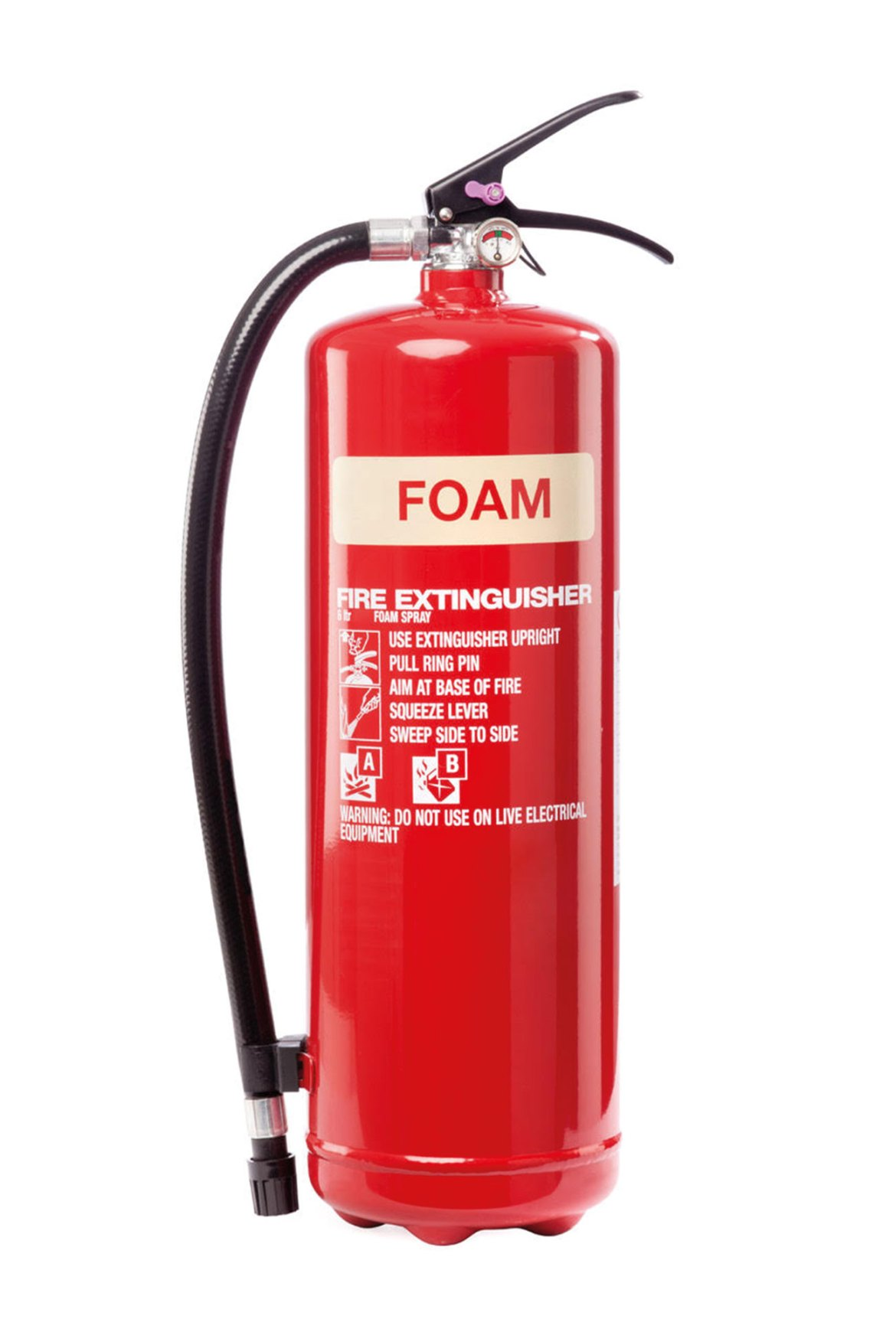 Extinguishers are often marked with the logo of the manufacturer and most end users usually expect that replacement parts would also come from the same manufacturer (generally speaking).