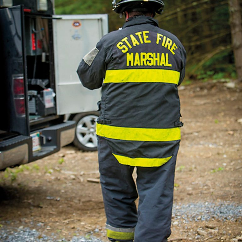 A fire investigator begins the investigation of a fire using the scientific method or systematic approach in accordance with NFPA 921 and NFPA 1033.