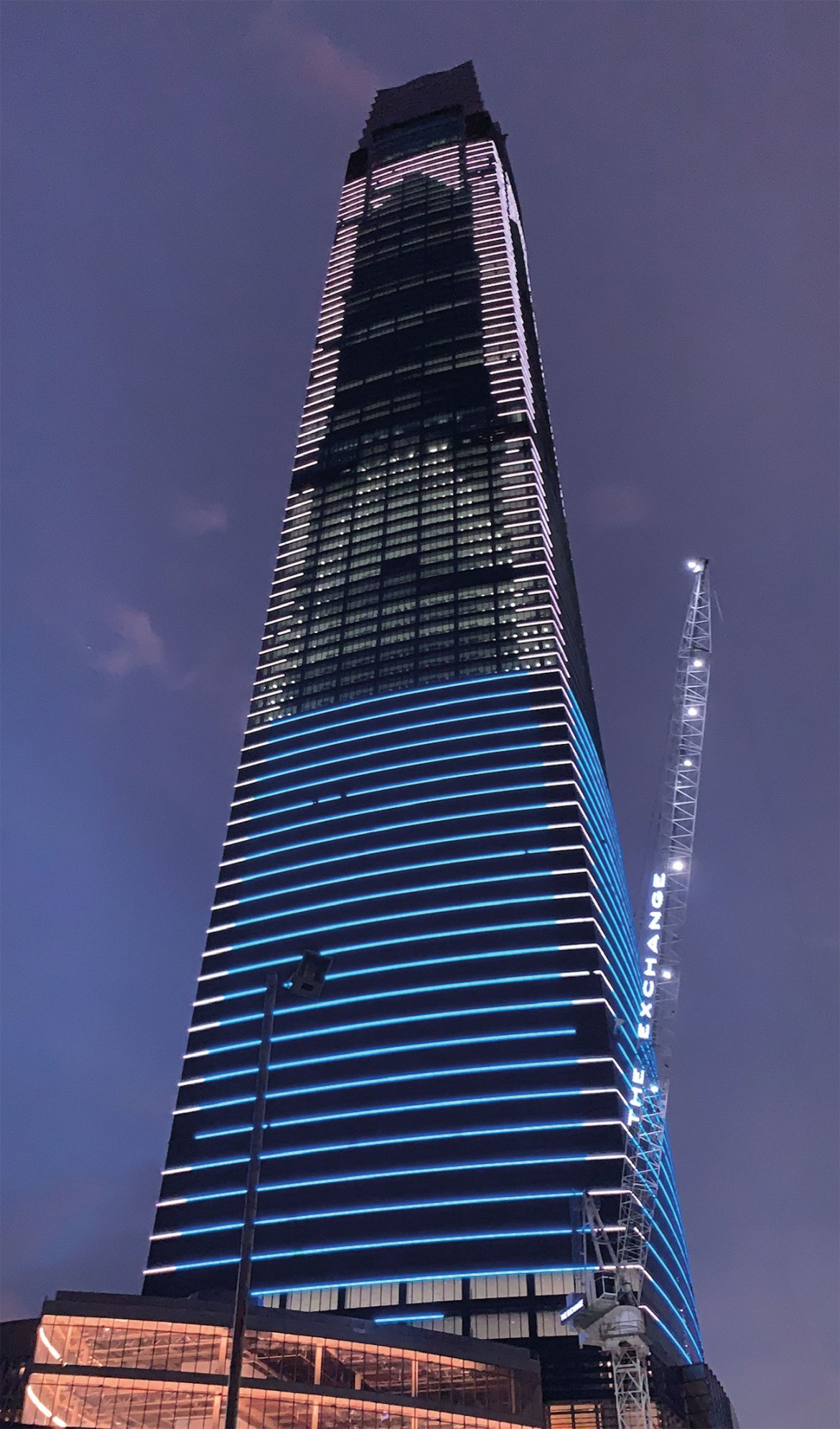 Located in Kuala Lumpur, the Merdeka 118 tower is over 600m in height.