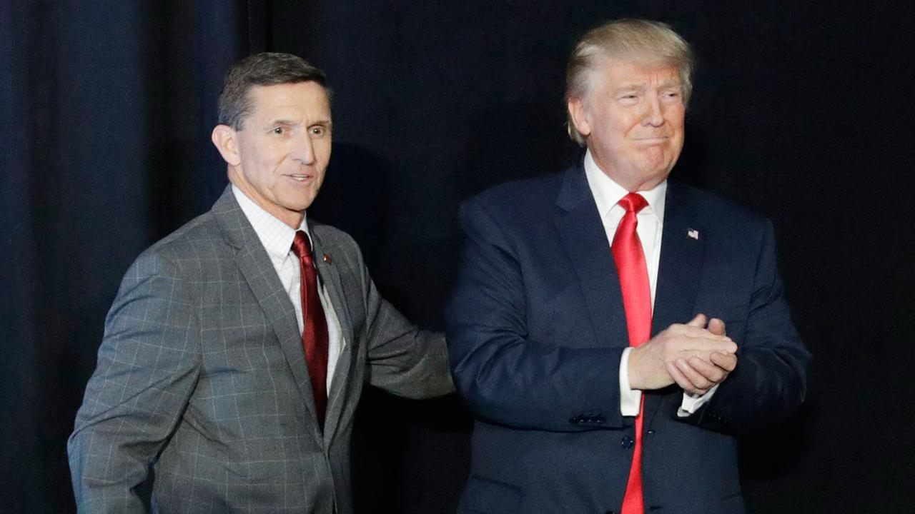 Image result for flynn and trumP ISIS
