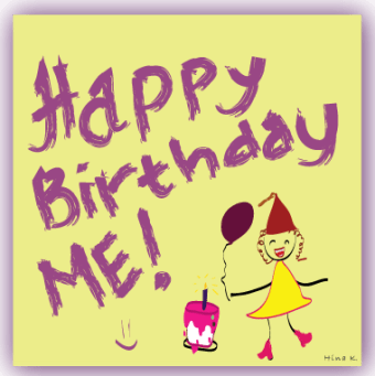 My new birthday resolution: Smile ... While you still have teeth! :D