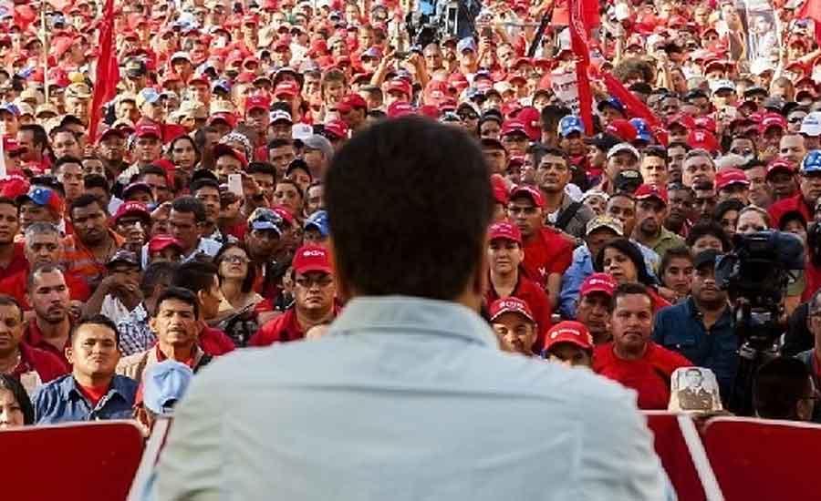 politicos venezuela sociedad maduro chavismo psuv mud