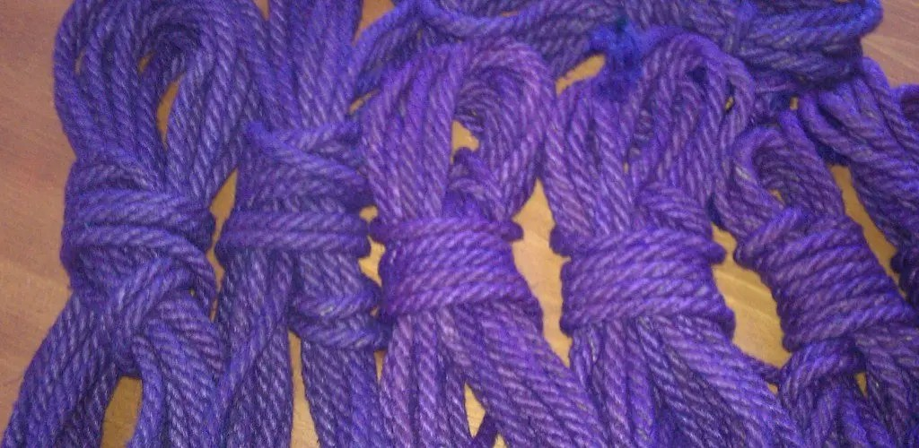 Rope ~ craft, type & knots for SoSS