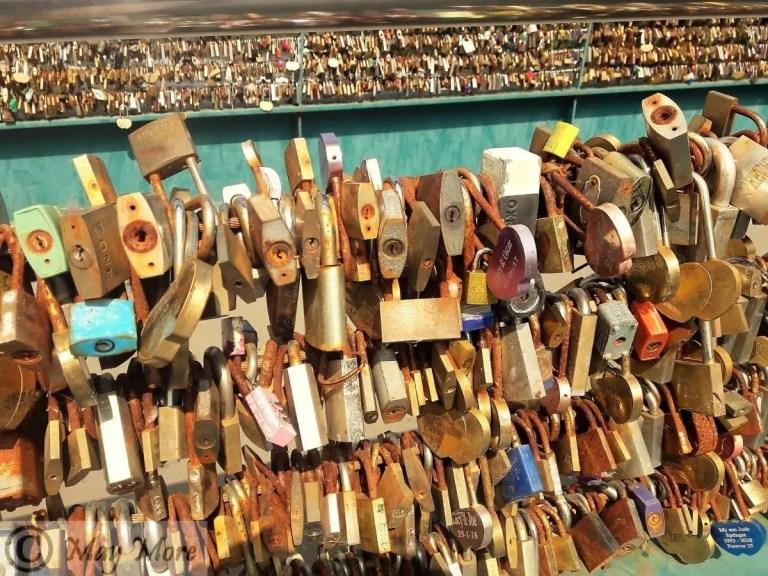 The Heart Locker Bridge ~ Miracles Happen
