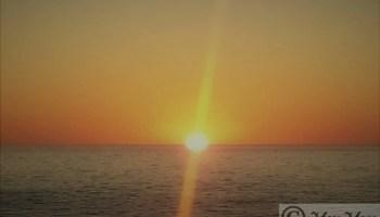 sun set - sun increases serotonin