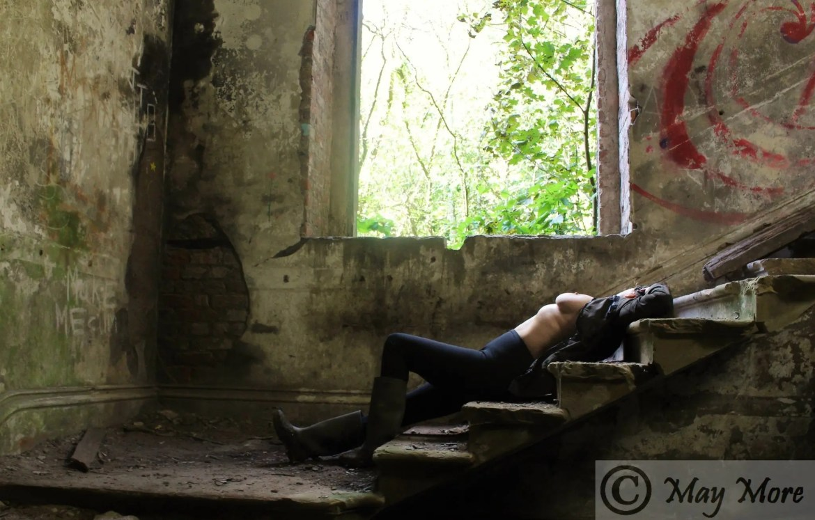 Derelict Mansion for #SinfulSunday