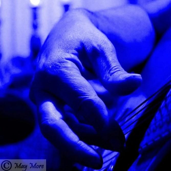 magician musician strong hands