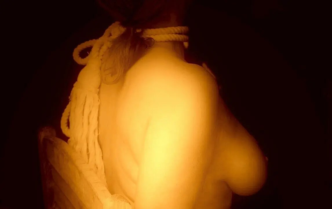 Sepia sets the bondage scene