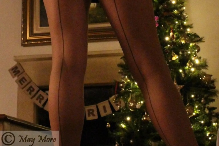 Seamed Stockings? Well tights and lights