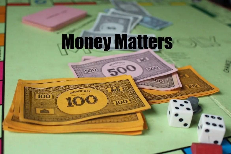 Money Matters ~ a month long meme