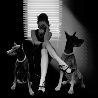 The Dogs of Halloween ~ Noir fiction