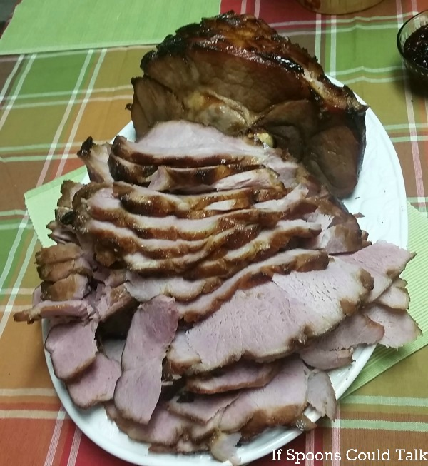 Sliced perfect ham