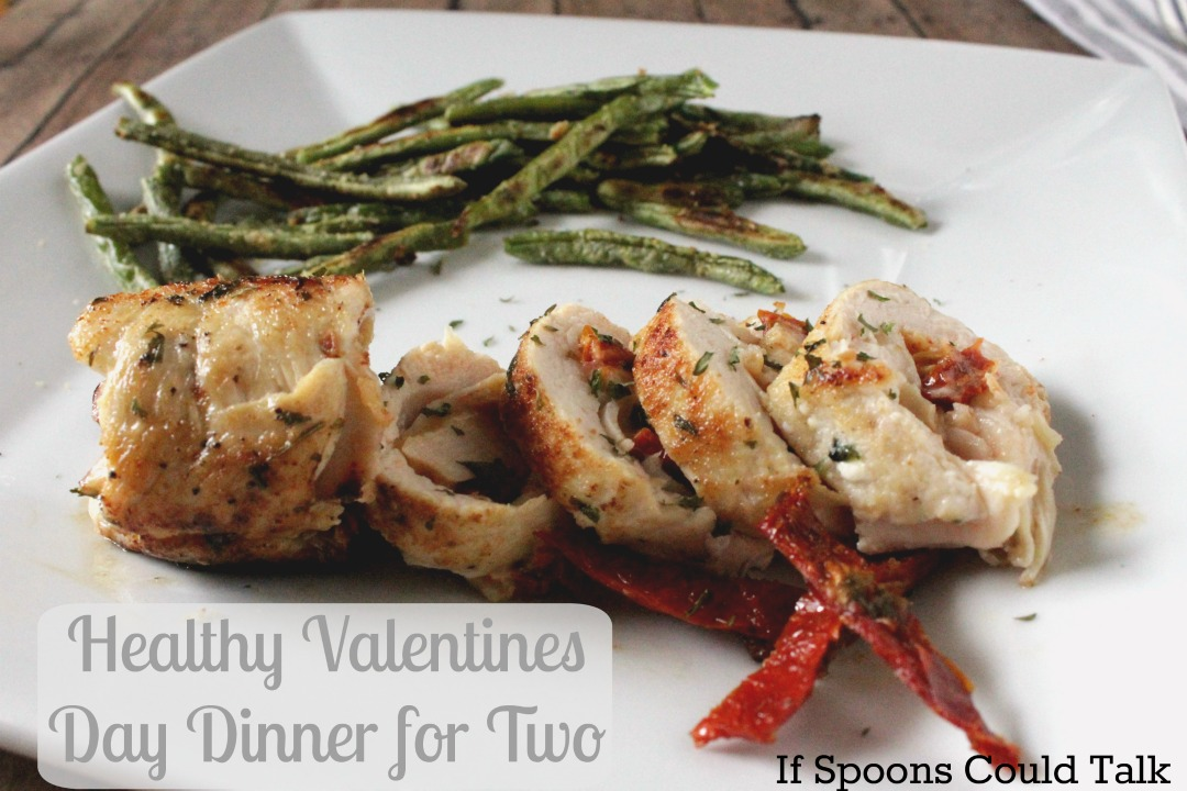 Healthy Valentines Day Dinner for Two In a Hour