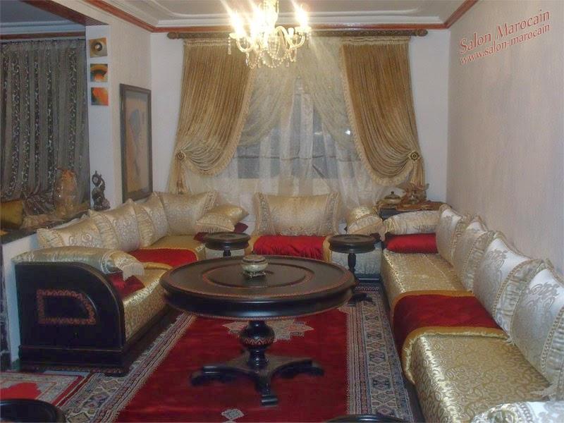 Rideaux Salon Marocain Traditionnel | Unixpaint