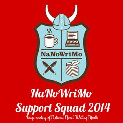 NaNoWriMo Support Squad: Guest Post by Stacey Nash - If