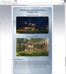 Featured Artist in Multiscater.com
