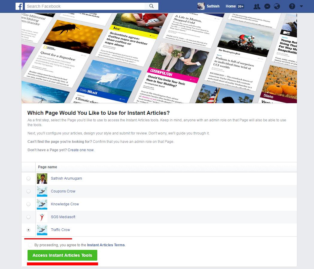 Facebook Instant Article 1