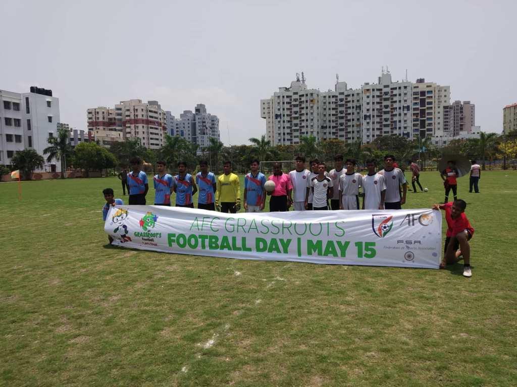 AFC-AIFF Grasroots Day celebrated in Kolkata in a jubilant fashion 60809630 357433201549457 5553015757333331968 n