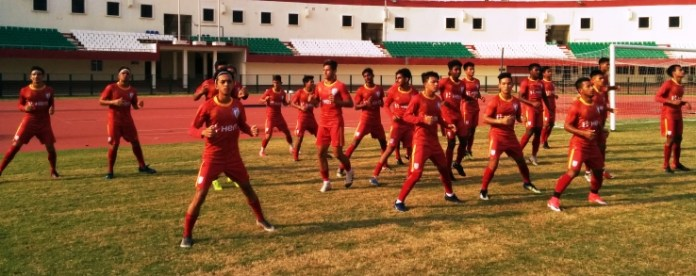 india u19 football team
