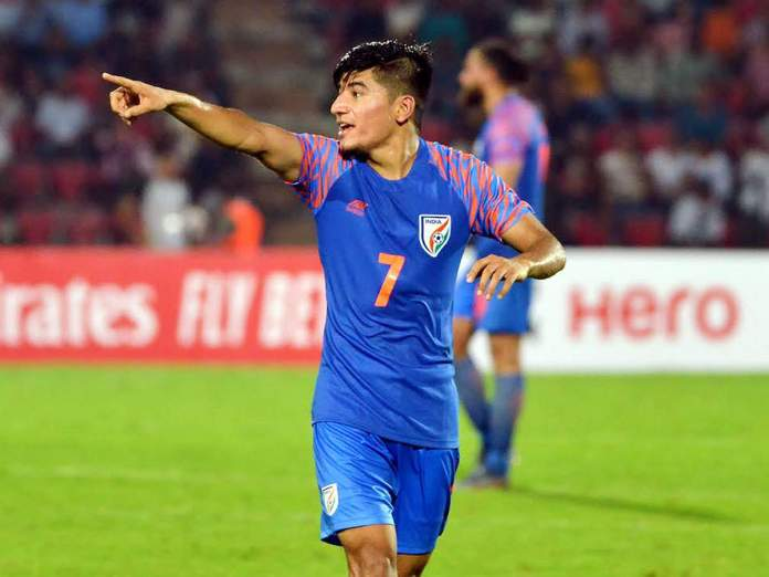 AIFF Player Of The Year Anirudh Thapa