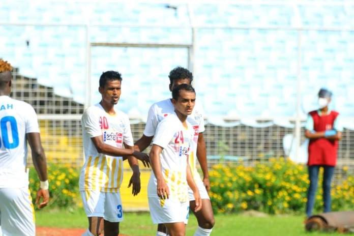 Bhawanipore FC tied up with Mohammedan SC as they notch a 1 - 2 win against the Garhwal Football Club FB IMG 1602679621828