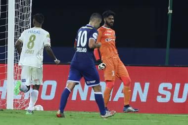 Player Ratings- Kerala Blasters FC vs Chennaiyin FC gomesjpg