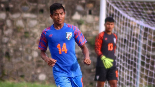 Indian Arrows : Shanmugam Venkatesh - The players know the importance of playing in the I League ricky shabong 1595416095 43938