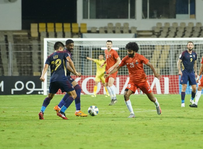 Match Report - FC Goa put in a valiant effort against Al Wahda to secure a point Glan Martins presses FC Goa va Al Wahda AFC Champions League 2021