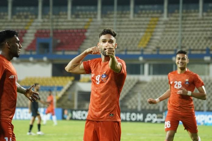 Ortiz scores for FC Goa