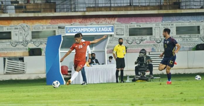 Match Report - FC Goa put in a valiant effort against Al Wahda to secure a point Seriton Fernandes crosses on the run FC Goa va Al Wahda AFC Champions League 2021