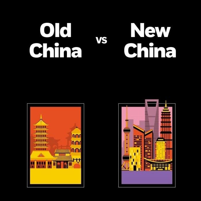 Old China vs New China