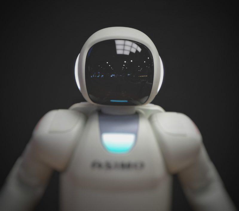 white-robot