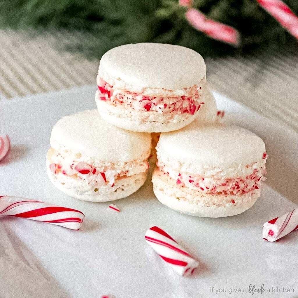 Christmas Macarons Recipe If You Give A Blonde A Kitchen