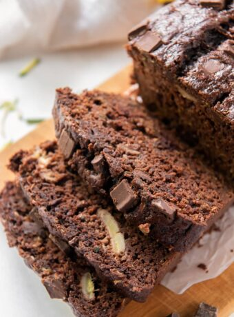 Chocolate Zucchini Banana Bread