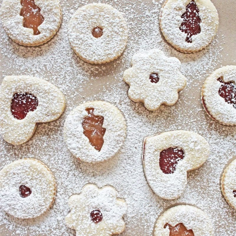 Jelly Sandwich Cookies are a Christmas tradition | If You Give a Blonde a Kitchen
