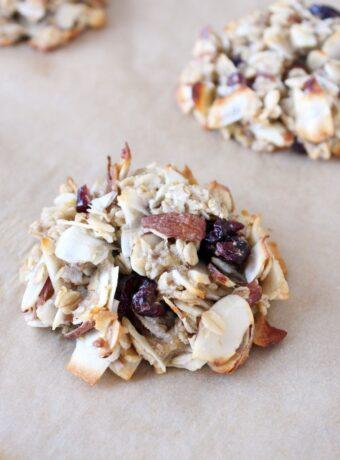 Super Healthy Breakfast Cookies