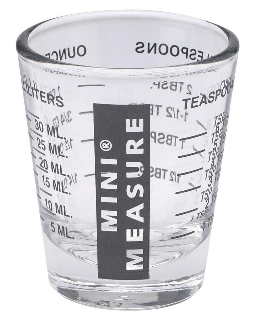 shot glass mini measure