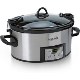 6 quart crockpot slow cooker