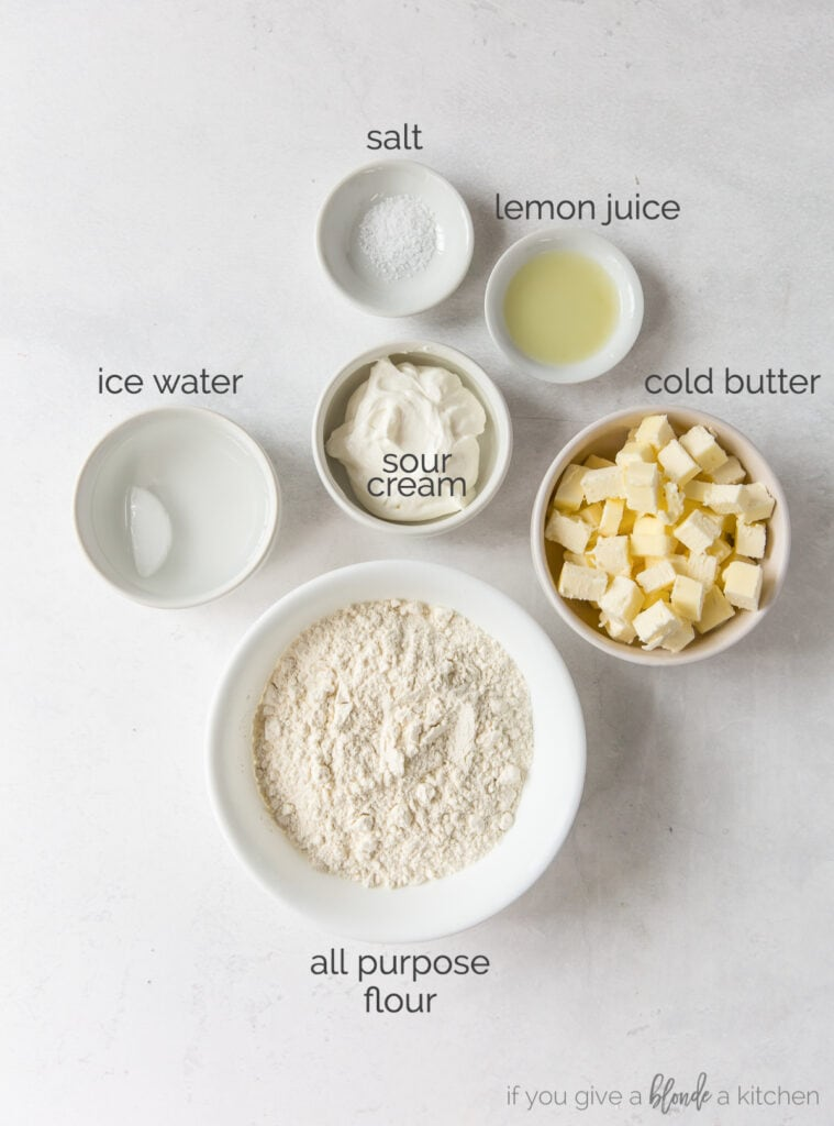 galette pastry dough ingredients