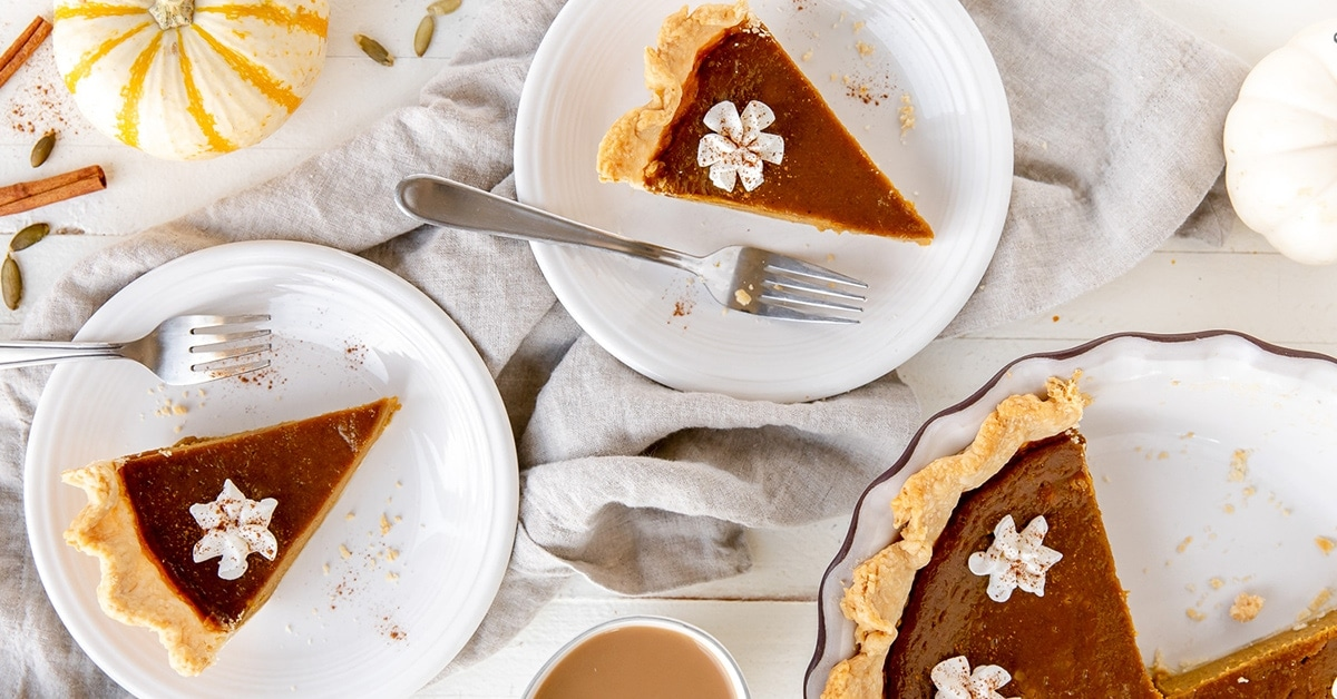 Homemade Pumpkin Pie From Scratch If You Give A Blonde A Kitchen