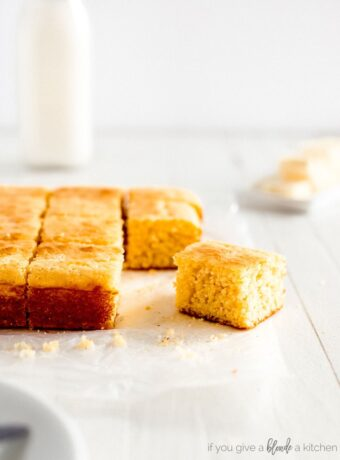 Homemade Cornbread in 30 minutes
