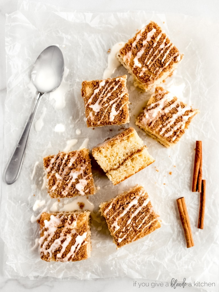 Sour Cream Coffee Cake If You Give A Blonde A Kitchen