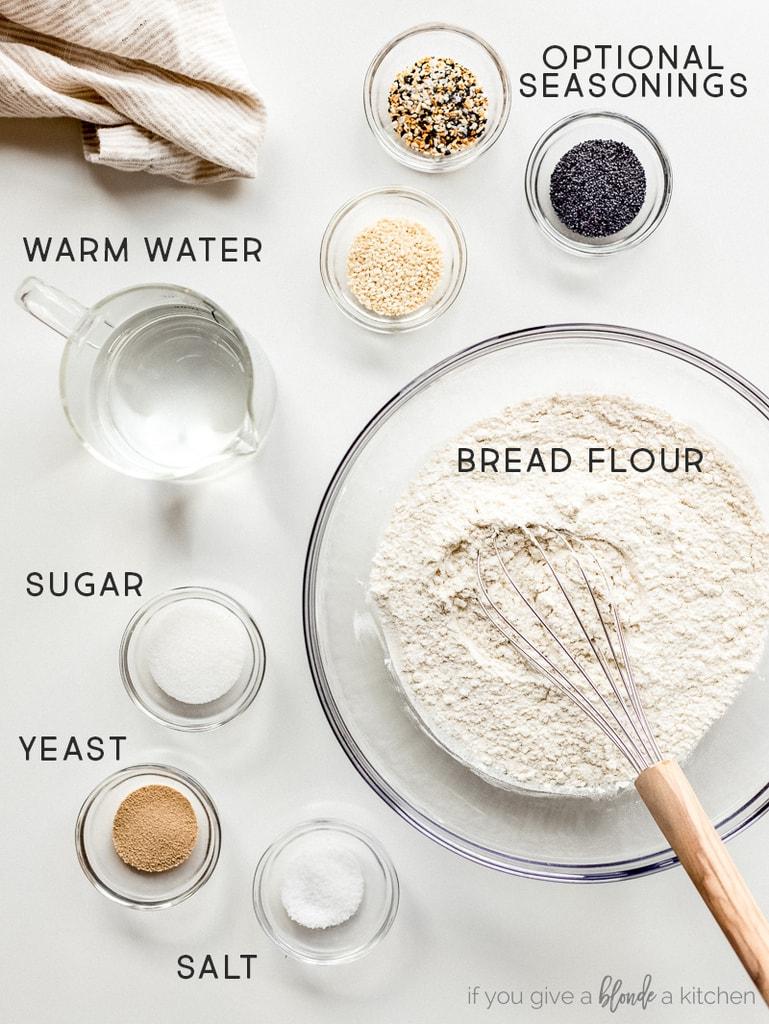 bagel ingredients labeled