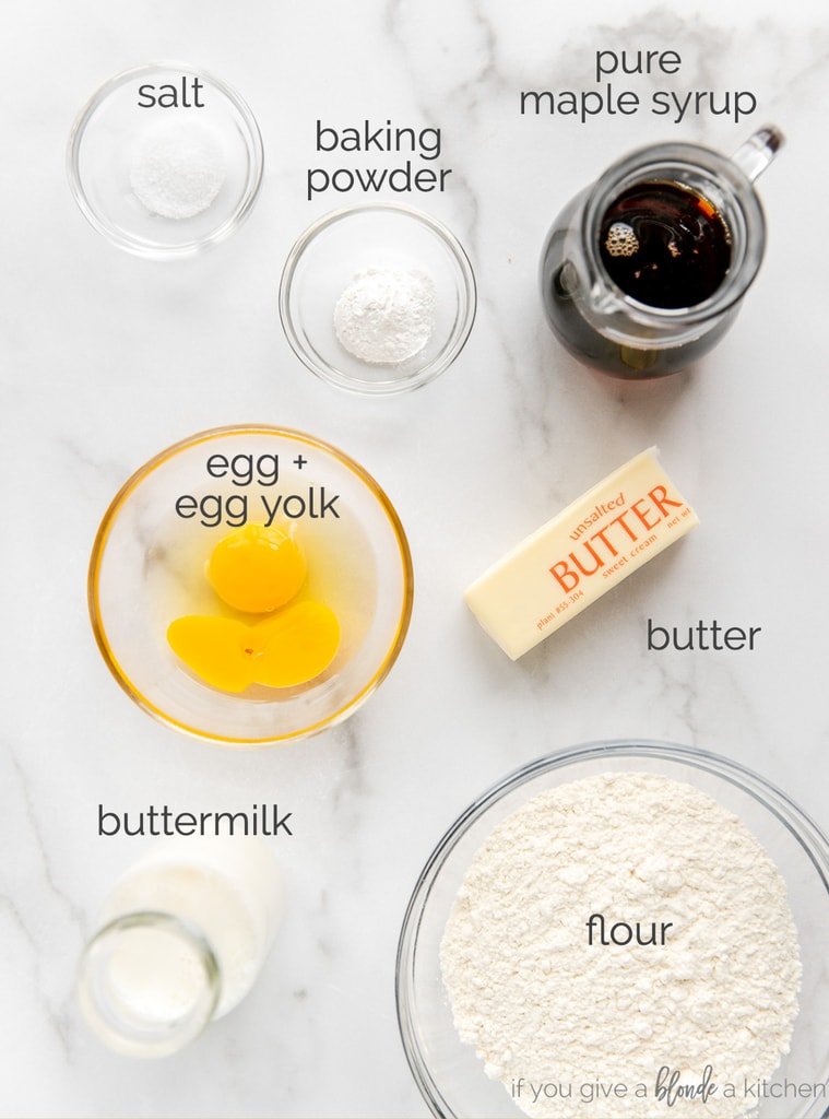 ingredients in bowls with text labels