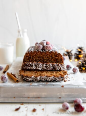 Gingerbread Loaf {quick and easy!}