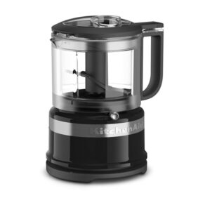 black mini food processor