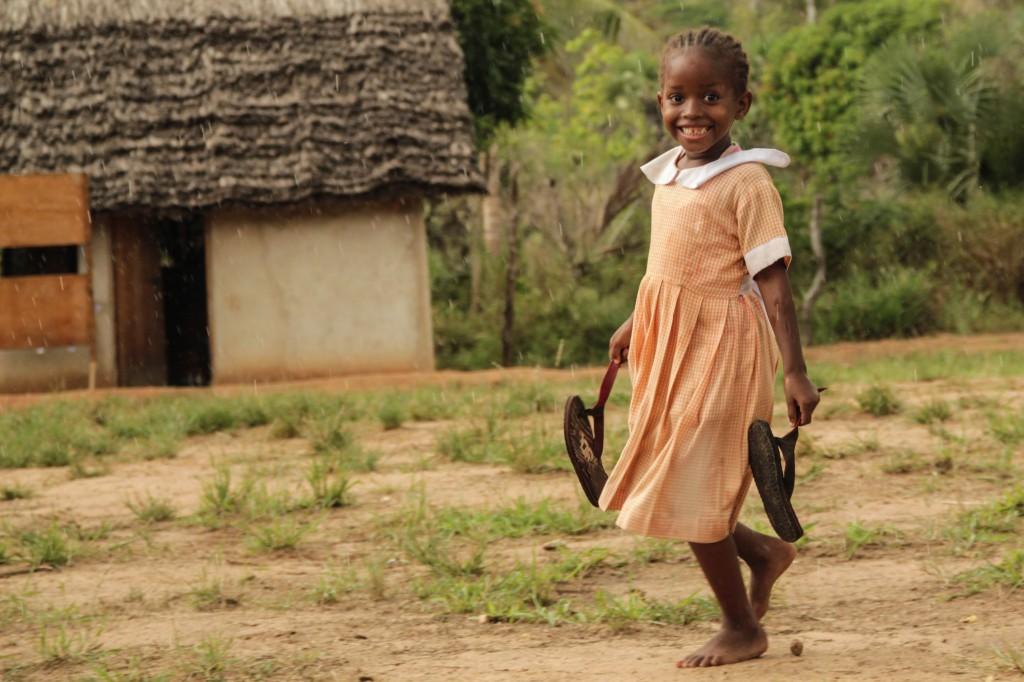 Fotoreportage: Girl at Footprints Orphanage Kenya
