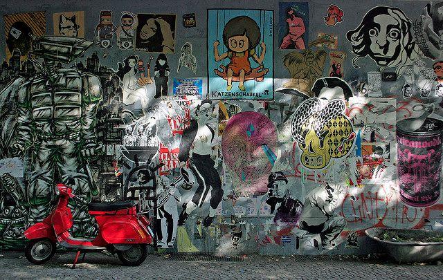 Streetart Berlin fotografieren: Intimes Kino Berlin