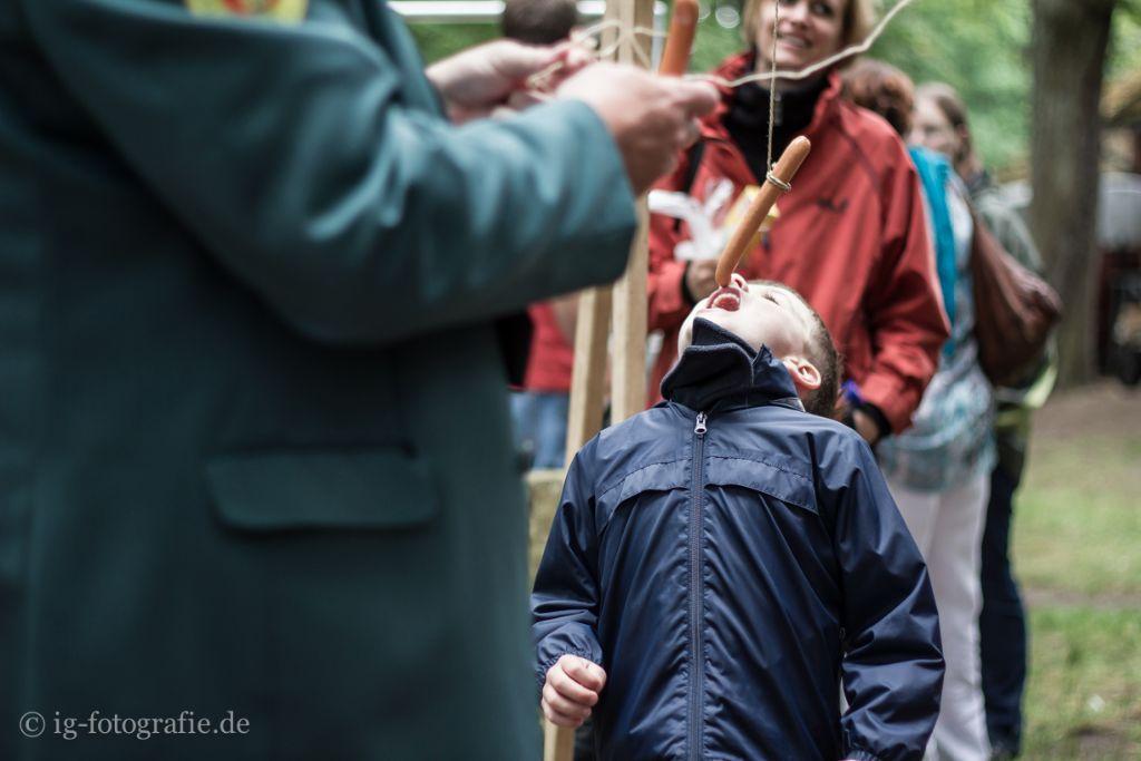 Kinderschützenfest Gartow: Kinderspiele auf dem Festplatz